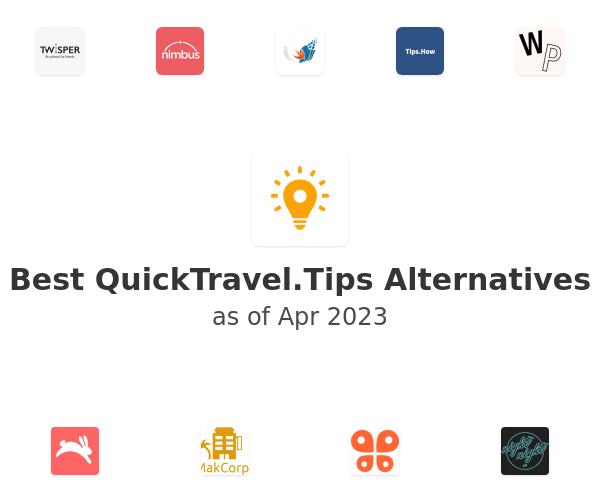Best QuickTravel.Tips Alternatives