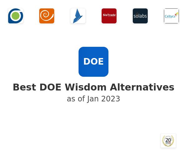 Best DOE Wisdom Alternatives
