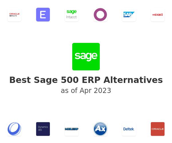 Best Sage 500 ERP Alternatives