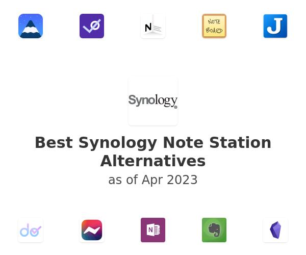 Best Synology Note Station Alternatives