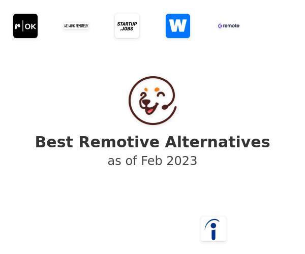 Best Remotive Alternatives