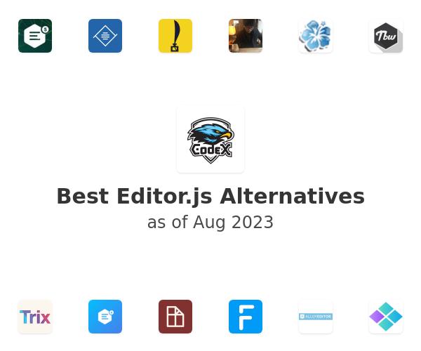 Best Editor.js Alternatives