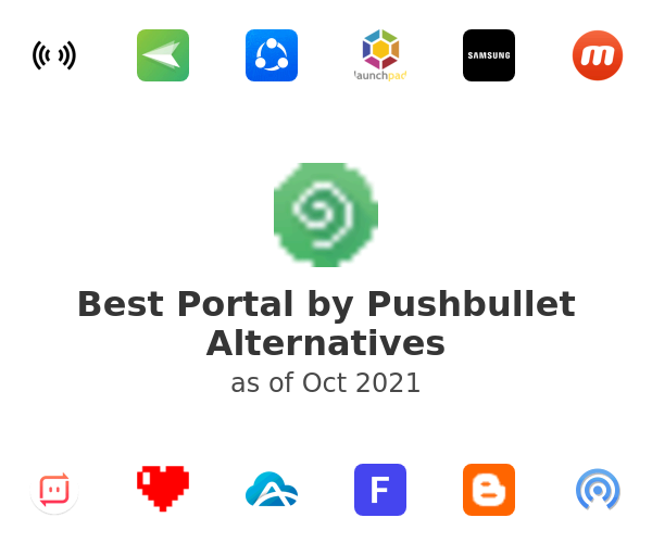 Best Portal by Pushbullet Alternatives