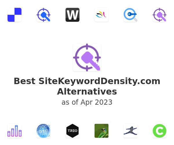 Best SiteKeywordDensity.com Alternatives