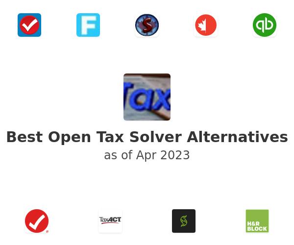 Best Open Tax Solver Alternatives