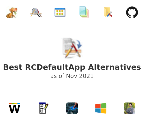Best RCDefaultApp Alternatives
