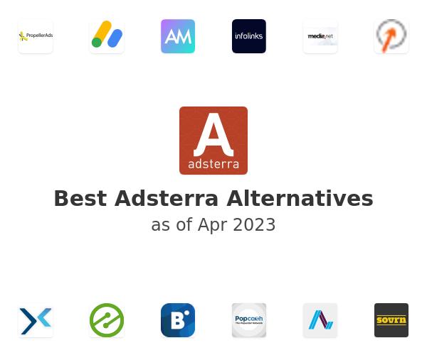 Best Adsterra Alternatives
