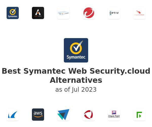 Best Symantec Web Security.cloud Alternatives
