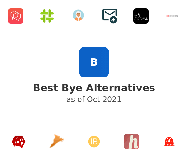 Best Bye Alternatives
