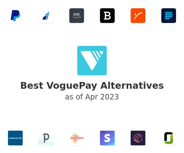 Best VoguePay Alternatives