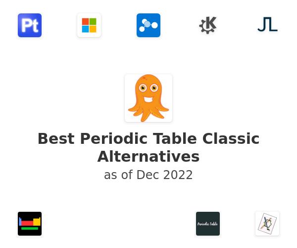 Best Periodic Table Classic Alternatives