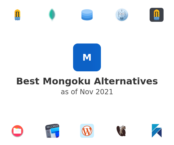 Best Mongoku Alternatives