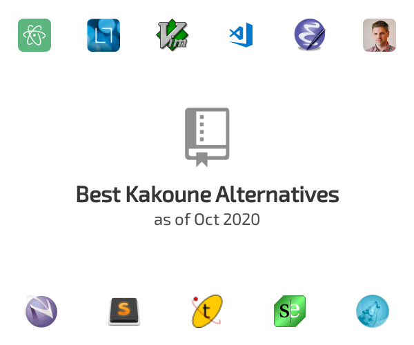 Best Kakoune Alternatives