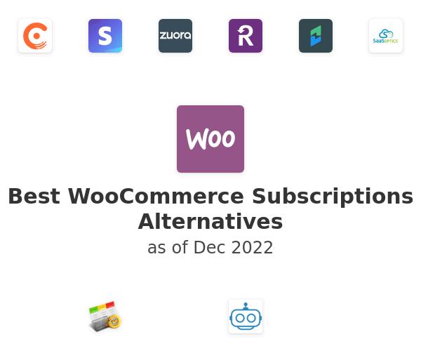 Best WooCommerce Subscriptions Alternatives