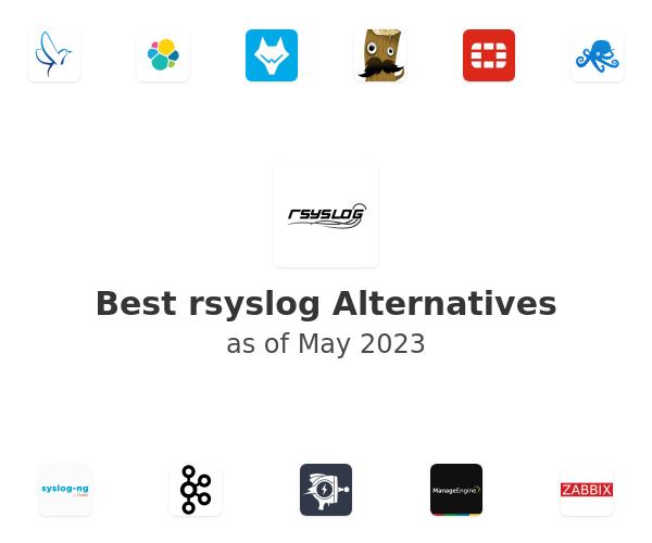 Best rsyslog Alternatives