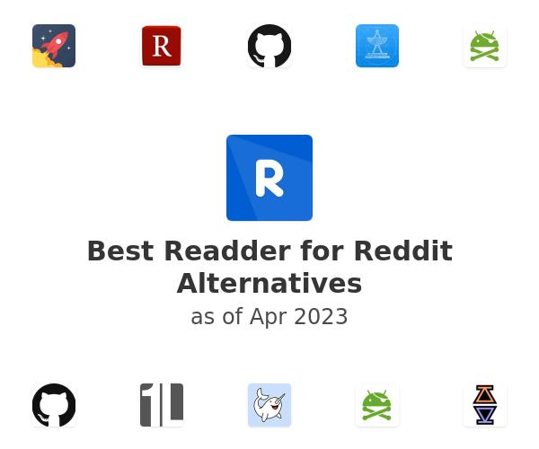 Best Readder for Reddit Alternatives