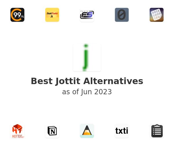 Best Jottit Alternatives