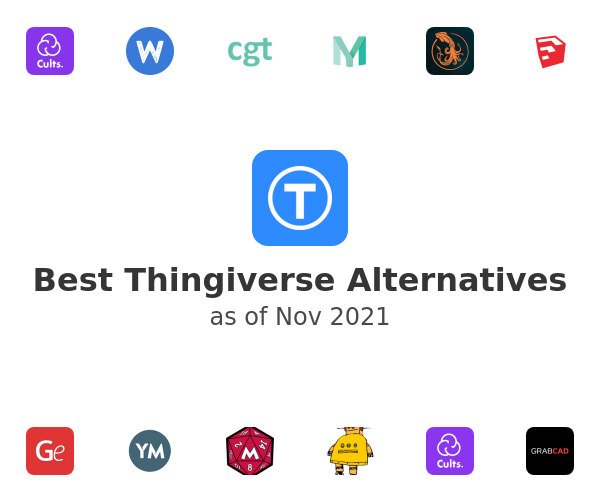 Best Thingiverse Alternatives