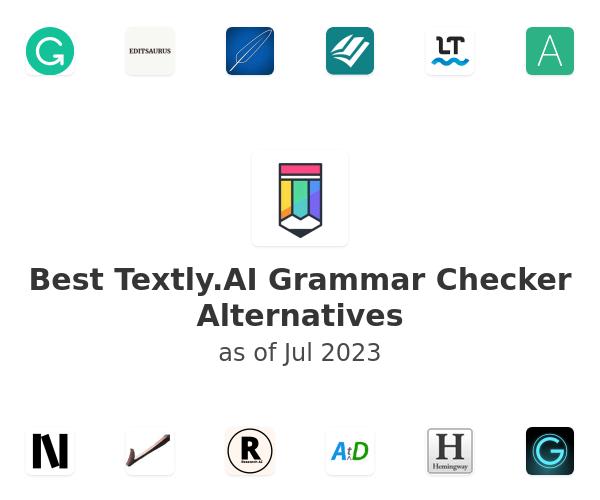 Best Textly.AI Grammar Checker Alternatives