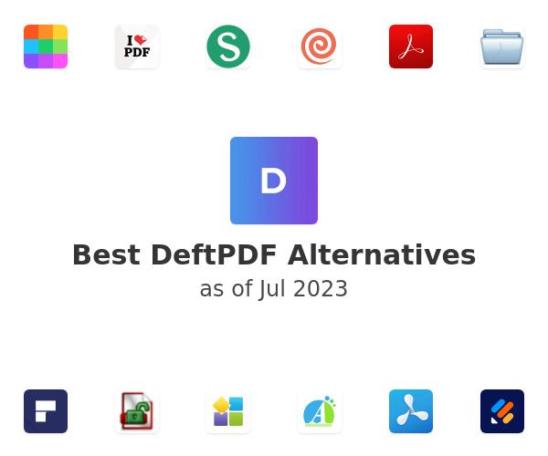 Best DeftPDF Alternatives