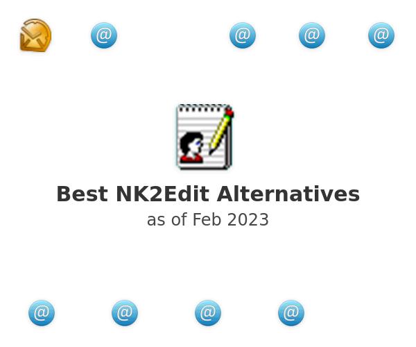 Best NK2Edit Alternatives