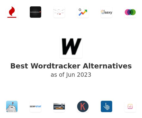 Best Wordtracker Alternatives