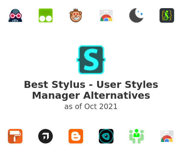 Best Stylus - User Styles Manager Alternatives