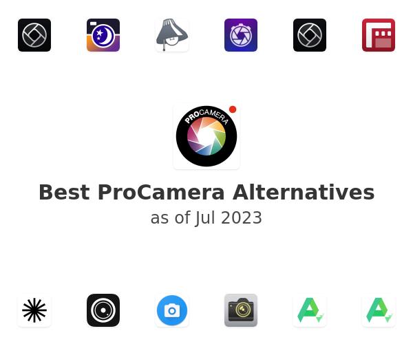 Best ProCamera Alternatives