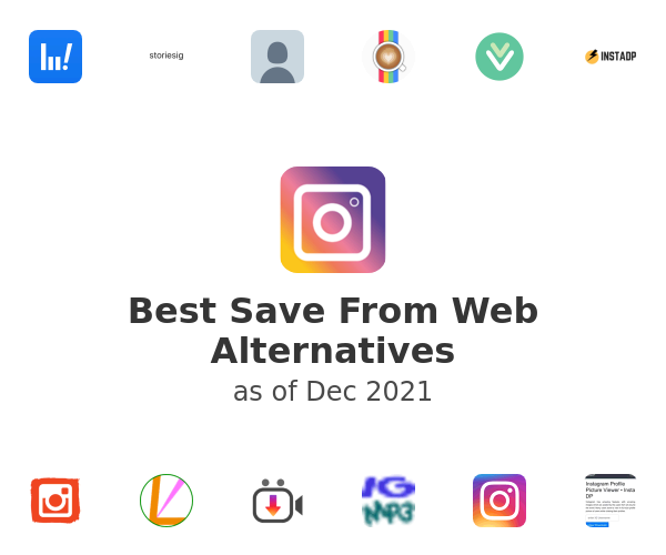 Best Save From Web Alternatives