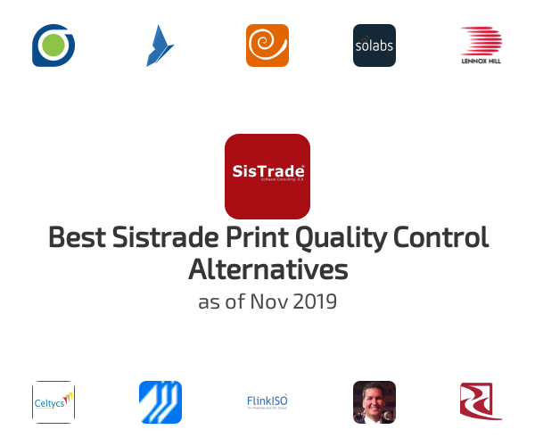 Best Sistrade Print Quality Control Alternatives