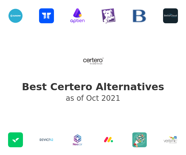 Best Certero Alternatives
