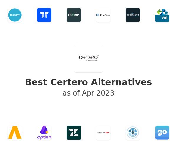 Best Certero Alternatives