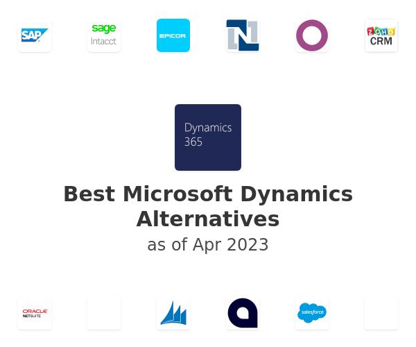 Best Microsoft Dynamics Alternatives