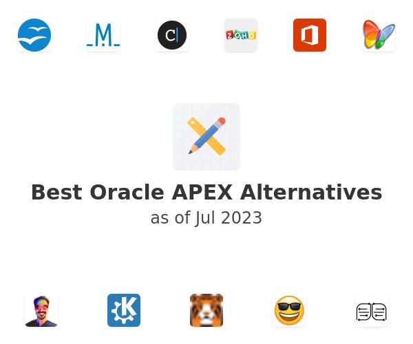 Best Oracle APEX Alternatives