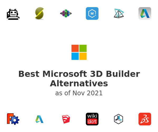 Best Microsoft 3D Builder Alternatives