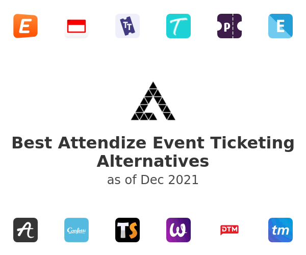Best Attendize Event Ticketing Alternatives