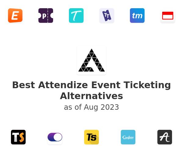 Best Attendize Event Ticketing Alternatives