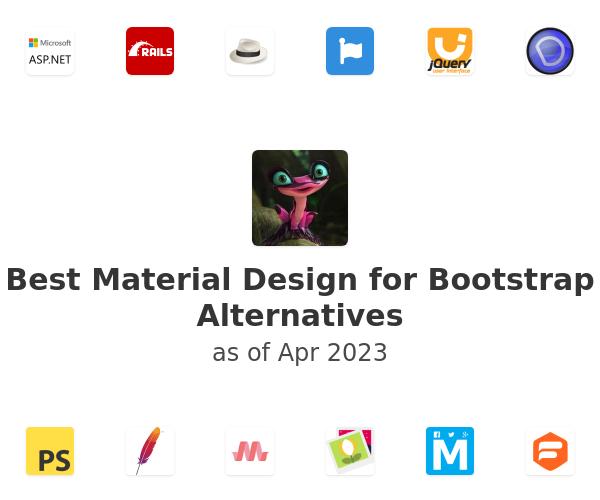 Best Material Design for Bootstrap Alternatives