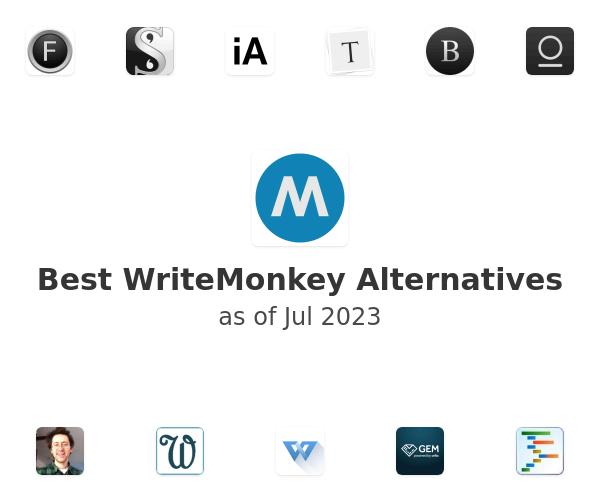 Best WriteMonkey Alternatives