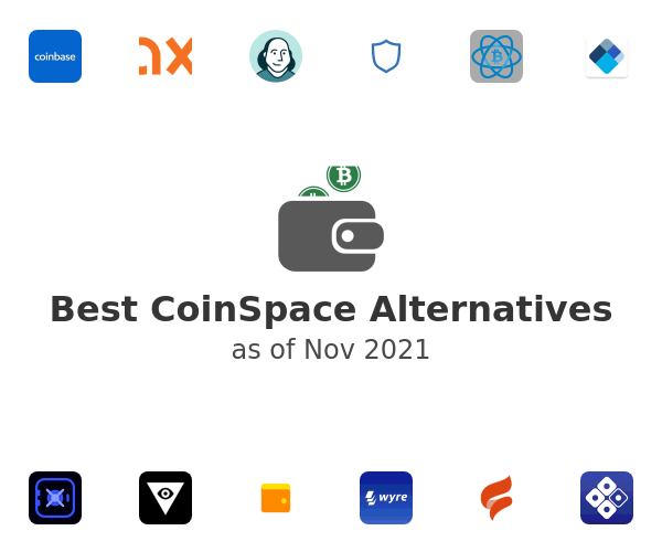 Best CoinSpace Alternatives