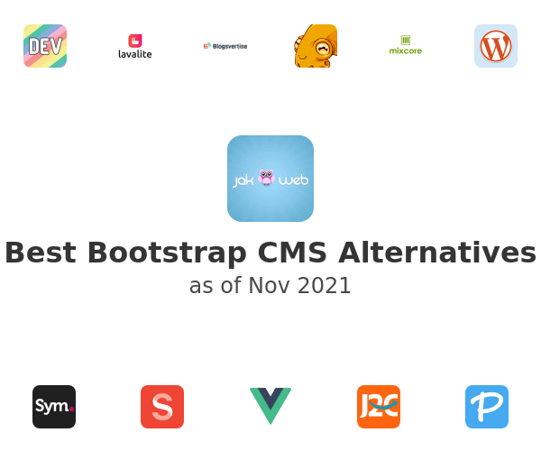 Best Bootstrap CMS Alternatives