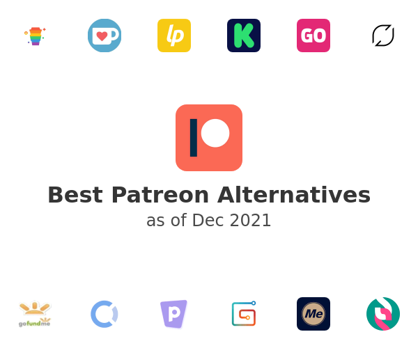 Best Patreon Alternatives