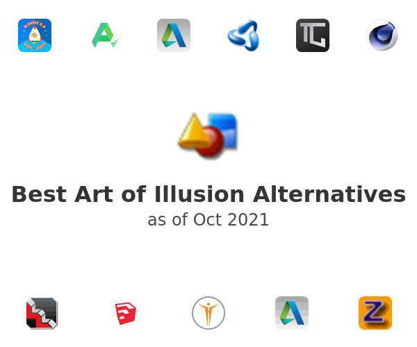 Best Art of Illusion Alternatives