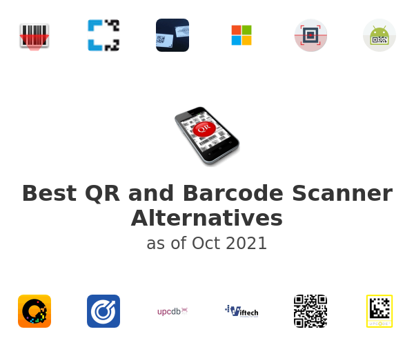 Best QR and Barcode Scanner Alternatives