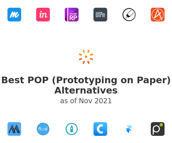 Best POP (Prototyping on Paper) Alternatives