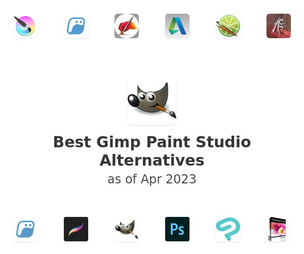 Best Gimp Paint Studio Alternatives