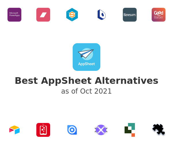 Best AppSheet Alternatives
