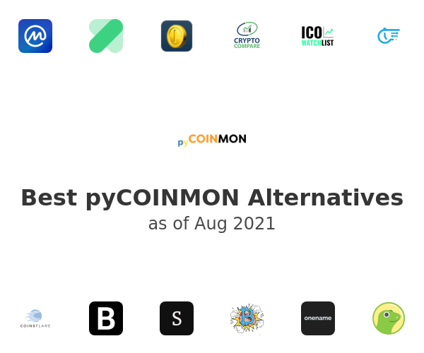 Best pyCOINMON Alternatives