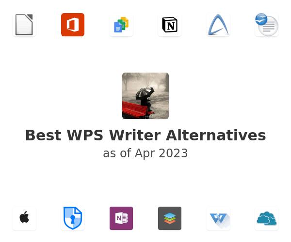 Best WPS Writer Alternatives