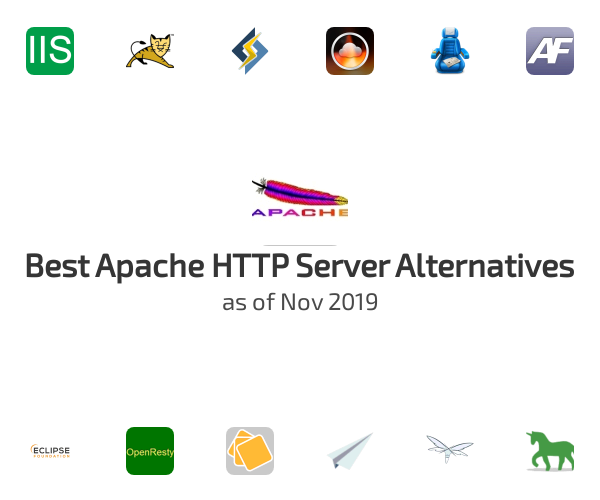 Best Apache HTTP Server Alternatives